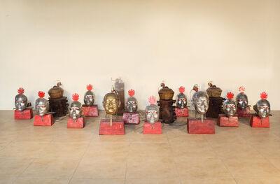 Heri Dono, 'The Heads of Gamelan', 2008