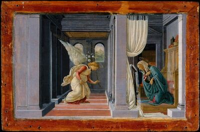Sandro Botticelli, 'The Annunciation', ca. 1485-1492