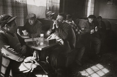 Sam Falk, 'Striking Longshoremen in a Bar', 1956 / 1960s