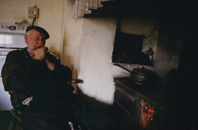 Justin Partyka, 'Eric Wortley by the Stove, Norfolk', 2005