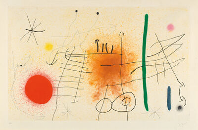 Joan Miró, 'Partie de campagne II (Country Party)', 1967