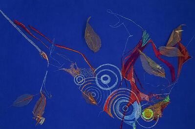 Lula Motra, 'Floating Leaves (embroidery)', 2020