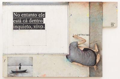 Bruno Kurru, 'Quantos mares cabem em um lápis de cor azul?', 2013