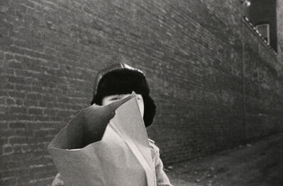 Mark Cohen, 'Hat and Bag in Alley, Mkt St Hgts', 1974