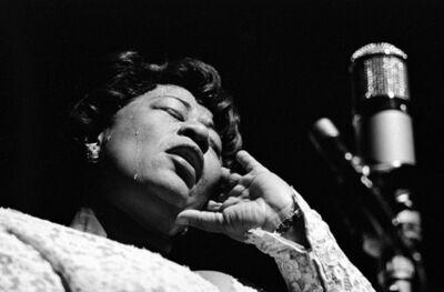 Herman Leonard, 'Ella Fitzgerald, Paris, Olympia Theatre', 1960