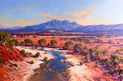 Ted Lewis, 'Mt Sonder Over the Finke River', ca. 2019