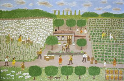 Giorgos Rigas, 'Harvest Work (Cotton & Grapes)', 2004