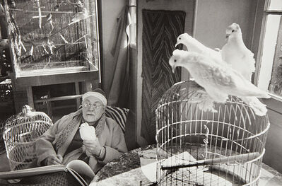 Henri Cartier-Bresson, 'Henri Matisse, Vence, France', 1944
