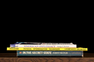 "Nina Katchadourian, 'American Diplomacy from ""Kansas Cut-Up"" (""Sorted Books"" project, 1993--ongoing)', 2014"