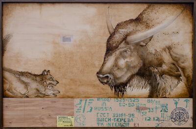 Joseph Rossano, 'Buffalo VS Dire Wolf', 2020