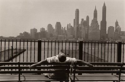 Louis Stettner, 'Promenade, Brooklyn', 1954-printed later
