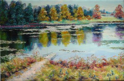 Zhang Shengzan 张胜赞, 'By pond', 2009