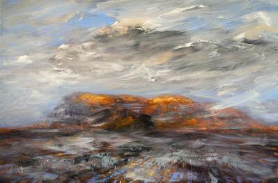 Réal Calder, 'L'heure mauve sur le Mont-St-Hilaire', 2017