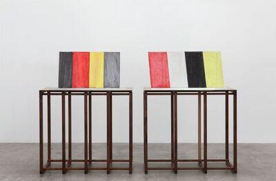 Julian Hoeber, 'Multipurpose Curved Wall Panel Configuration 1 & 2', 2016