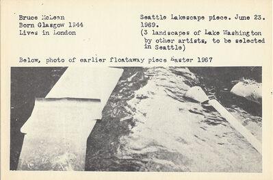 Bruce McLean, 'Seattle Lakescape Piece', 1969-2018