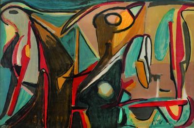 Bram van Velde, 'Composition Xxvi', 1980
