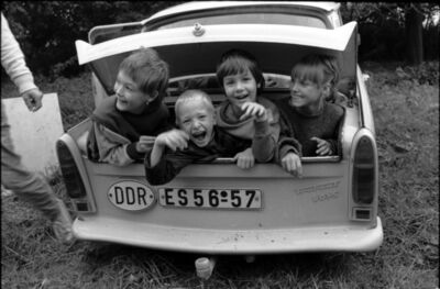 "Gundula Friese, '""Im Trabi"", East Germany 1989', 1989"