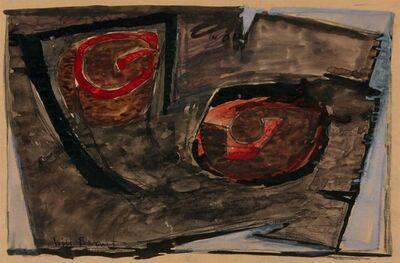 Will Barnet, 'Study I, Recumbent Figure', 1963