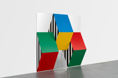 Daniel Buren, 'Prismes et miroirs: Haut-relief - DBPF n° 17', 2020