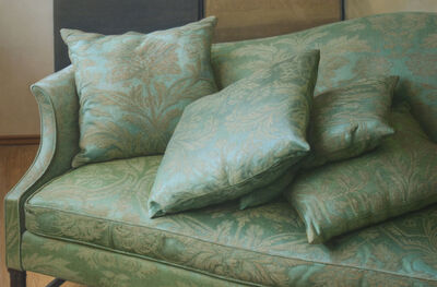 Claudio Bravo, 'Green Sofa', 1991