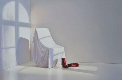 Edite Grinberga, 'Zimmer mit roten Schuhen', 2016
