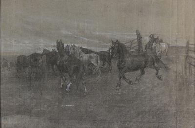 Filiberto Petiti, 'Horses'