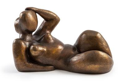 Aude Herledan, 'Femme Allongée', 2018