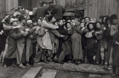 Henri Cartier-Bresson, 'The Last Days of the Kuomintang (market crash), Shanghai, China', 1948-1949