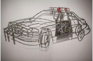 Tom Fruin, 'COP CAR, LAPD, ', 2013