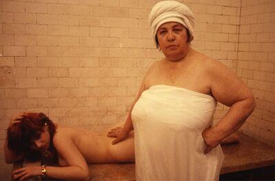 Nan Goldin, 'Lydia Lunch at the Russian baths, New York', 1985