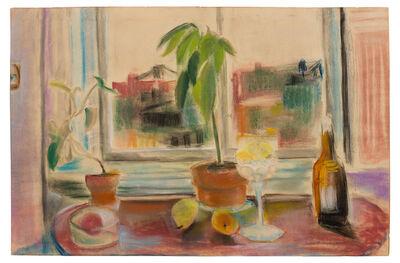 Jane Freilicher, 'Untitled (Still Life in front of Window)', 1953