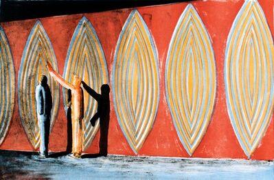 Thomas Huber (b.1955), 'Hinweis 1992', 1993