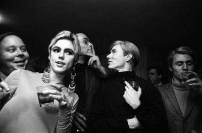 Steve Schapiro, 'Andy Warhol, Edie Segdwick and Entourage, New York, 1965', 1965