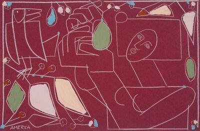 America Martin, 'Woman & Avocado Tree', 2018