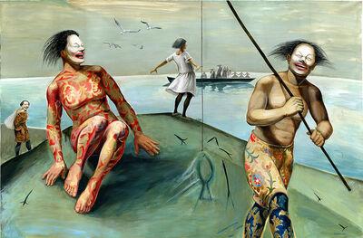 Niniko Morbedadze, 'Funny fishing', 2017