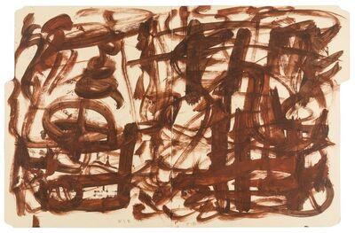 William S. Burroughs, 'Untitled', circa 1990