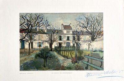Maurice Utrillo, 'Le Jardin de Montmagny ', 1950