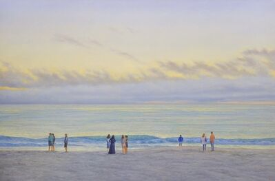 Willard Dixon, 'Evening Beach, 2020', 2020