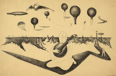 Dorothy Dehner, 'Balloon Ascension #3: Dithyrambe Played by the Ashraf', 1947