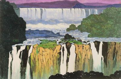 Ma Paisui 馬白水, 'Iguazu Falls', 1982