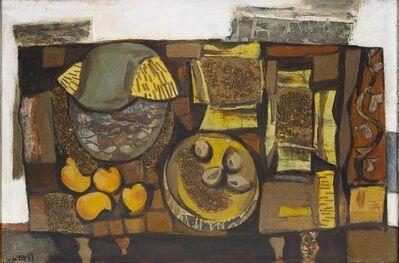 K. G. Subramanyan, 'Still Life with Mangoes', 1961