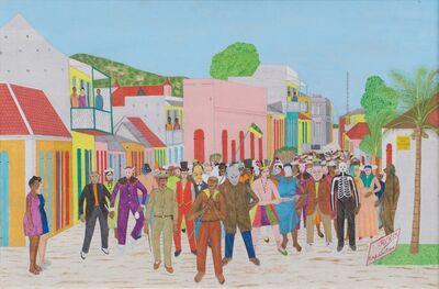 Philomé Obin, 'Cap-Haitien Carnival, 1964', 1964