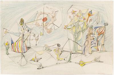 Roberto Matta, 'Untitled (Chemillieu)', ca. 1939