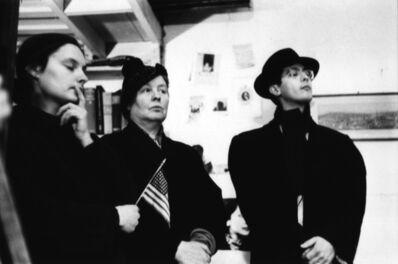 John Cohen, 'Sally Gross, Alice Neel, Richard Bellamy - Pull My Daisy', 1959