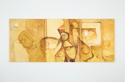 Ibrahim El-Salahi, 'Untitled ', 2015