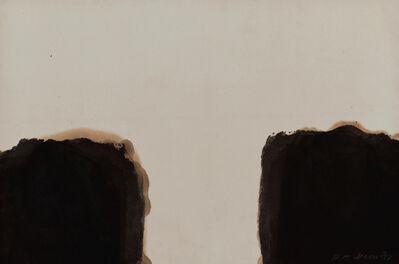 Yun Hyong-keun, 'Umber-Blue 87 #39', 1987