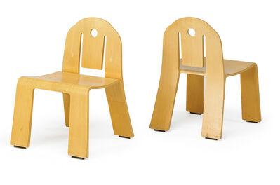 Robert Venturi, 'Pair of Art Deco chairs, New York', 1980s