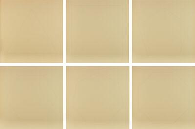 Walter De Maria, 'The Pure Polygon Series: six plates', 1975-76