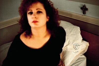 Nan Goldin, 'Self Portrait in The Lodge', 1988