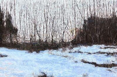 Christopher Charlebois, 'Edge of Field - Winter Dusk', 2018